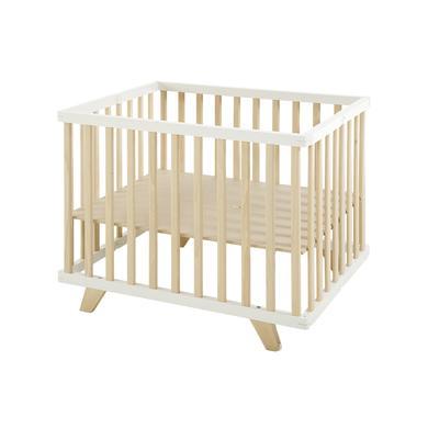 Laufgitter - geuther Laufgitter Lasse 75 x 96 cm weiß natur klein  - Onlineshop Babymarkt