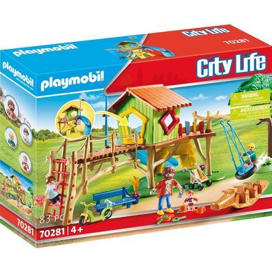 PLAYMOBIL ® City Life dobrodružné hřiště 70281