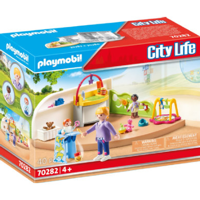 Batole PLAYMOBIL ® City Life 70282