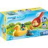 PLAYMOBIL  ® 1 2 3 familia de patos AQUA 70271