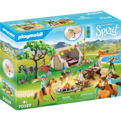 Letní tábor PLAYMOBIL ® Spirit Riding Free
