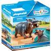 PLAYMOBIL® Family Fun Flusspferd mit Baby 70354