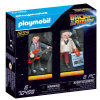 PLAYMOBIL® BACK TO THE FUTURE Marty McFly und Dr. Emmett Brown