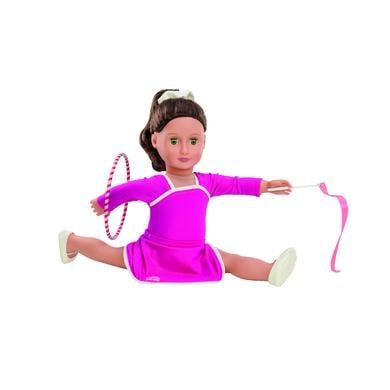 Naše generace - Oblečení gymnastických šatů s hula hoopem