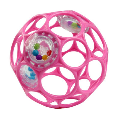 Oball ™ Rattle pink 10 cm