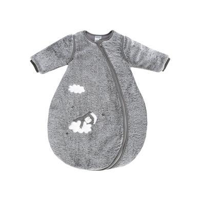 Jacky Dream spací pytel polstrovaný odnímatelnými rukávy graumelange - šedá - Gr.Novorozenci (0 - 6 měsíců)