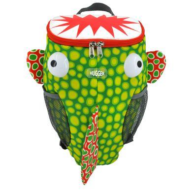 HUGGER® - Sac à dos enfant Monster Fish vert