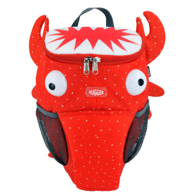 Kinderrucksaecke - HUGGER ® – Kinderrucksack Larry the Lobster – rot - Onlineshop Babymarkt