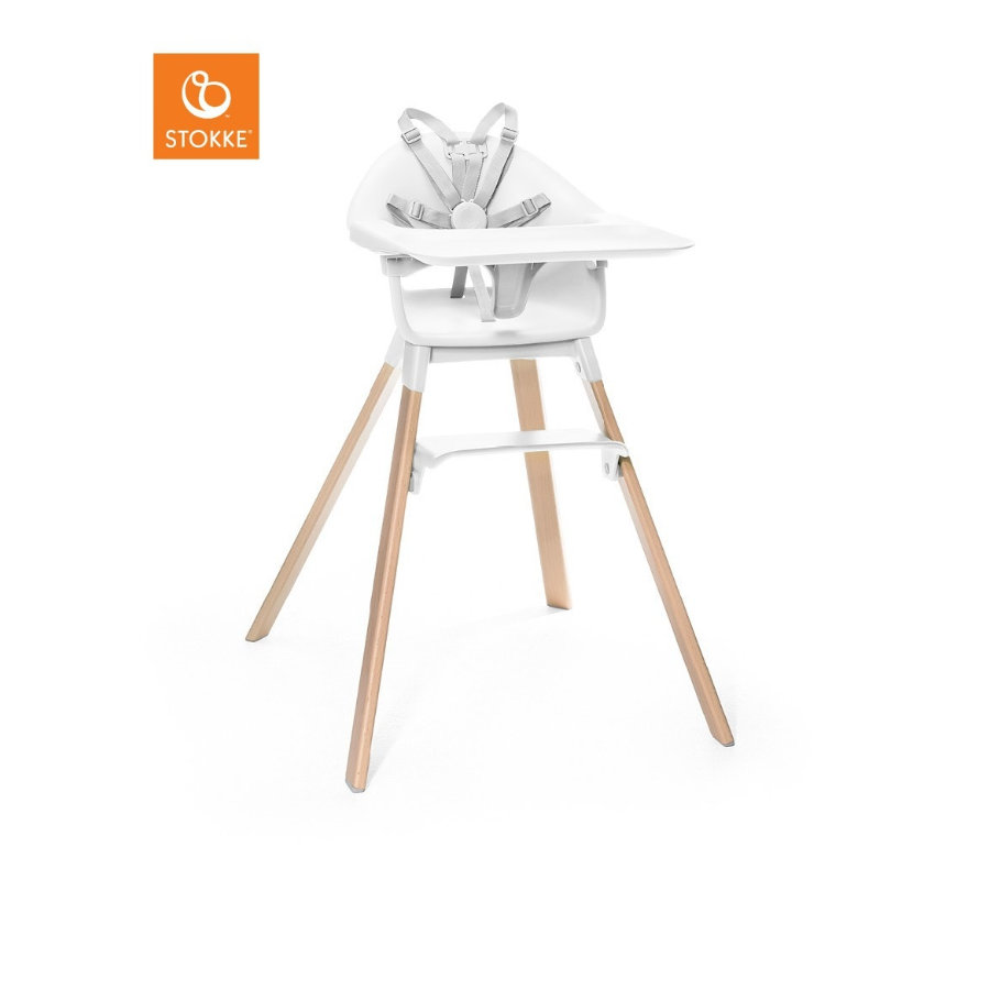 Hochstühle - STOKKE® CLIKK™ Hochstuhl White  - Onlineshop Babymarkt