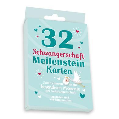 Image of skorpion Meilensteinkarten Set Schwangerschaft, bunt