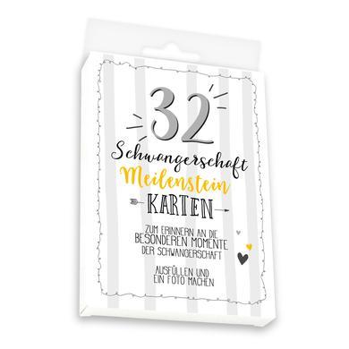 Image of skorpion Meilensteinkarten Set Schwangerschaft