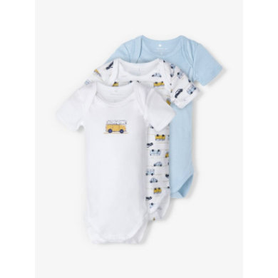Babywaesche - name it Body 3er Pack cashmere blue - Onlineshop Babymarkt