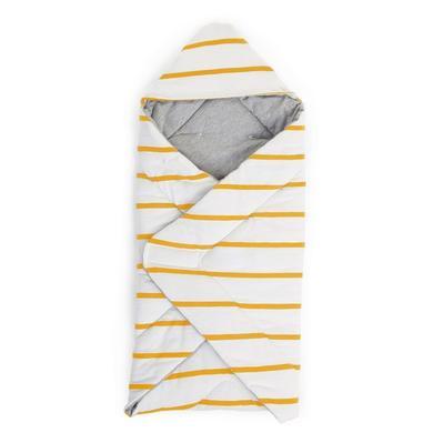 Kindertextilien - CHILDHOME Wickeldecke universal Ochre Stripes  - Onlineshop Babymarkt