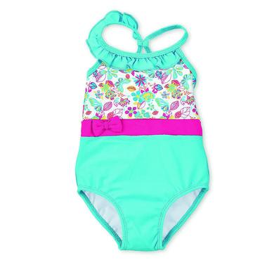 Minigirlbademode - Sterntaler Badeanzug türkis - Onlineshop Babymarkt