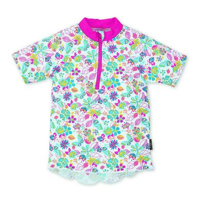 Minigirlbademode - Sterntaler UV–Kurzarmschwimmshirt weiß - Onlineshop Babymarkt
