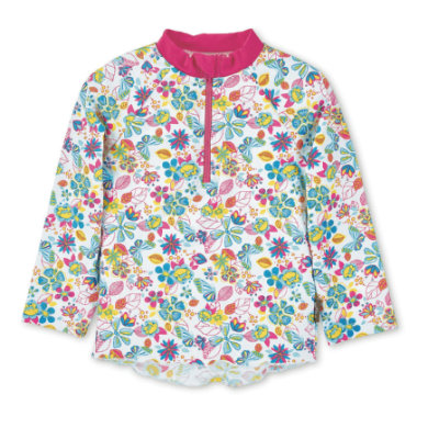 Minigirlbademode - Sterntaler UV–Langarmschwimmshirt weiß - Onlineshop Babymarkt