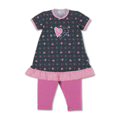 Minigirlroeckekleider - Sterntaler Babykleid mit Leggins marine - Onlineshop Babymarkt