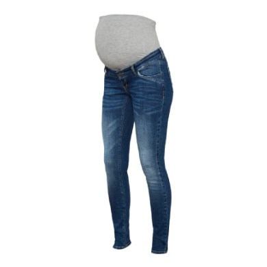 mama legitious Maternity jeans MLSAVANNA Medium Blue Denim