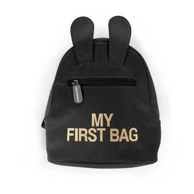 Kinderrucksaecke - CHILDHOME Kinderrucksack My First Bag schwarz - Onlineshop Babymarkt