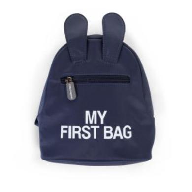Kinderrucksaecke - CHILDHOME Kinderrucksack My First Bag blau - Onlineshop Babymarkt