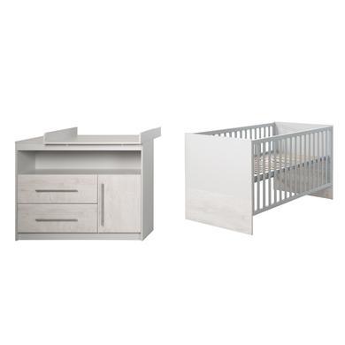 Babyzimmer - roba Sparset Maren 2 grau  - Onlineshop Babymarkt