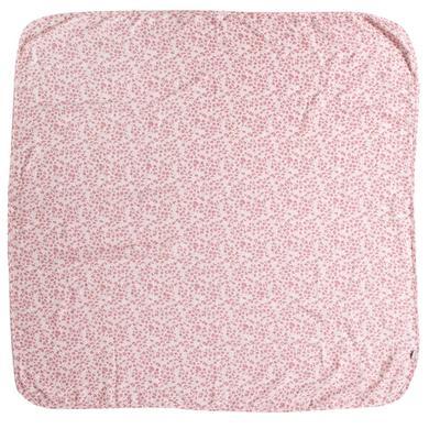 bébé jou® gázová tkanina Leopard Pink 110 x 110 cm