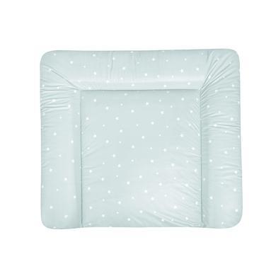 Wickelmöbel und Zubehör - JULIUS ZÖLLNER Wickelauflage Softy Folie Star mint 85 x 75 cm  - Onlineshop Babymarkt