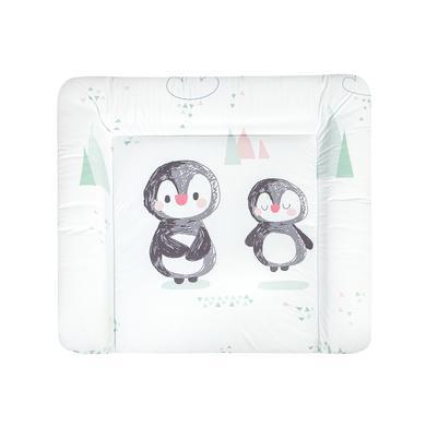 Wickelmöbel und Zubehör - JULIUS ZÖLLNER Wickelauflage Softy Folie Pinguin 85 x 75 cm  - Onlineshop Babymarkt