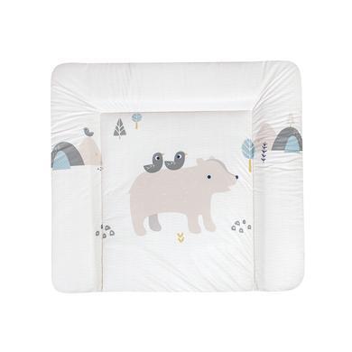 Wickelmöbel und Zubehör - JULIUS ZÖLLNER Wickelauflage Softy Folie Mountain Bear 85 x 75 cm  - Onlineshop Babymarkt
