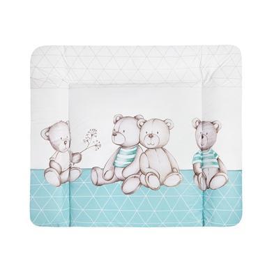 Wickelmöbel und Zubehör - JULIUS ZÖLLNER Wickelauflage Softy Bärenland mint 65 x 75 cm  - Onlineshop Babymarkt
