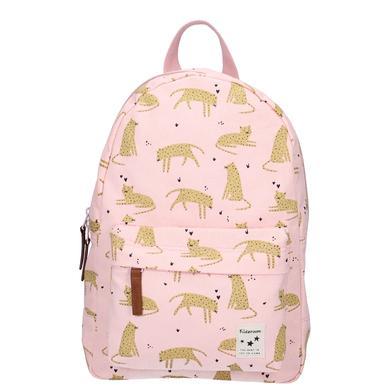 Schulrucksaecke - Kidzroom Rucksack Cuddle Leopard pink - Onlineshop Babymarkt