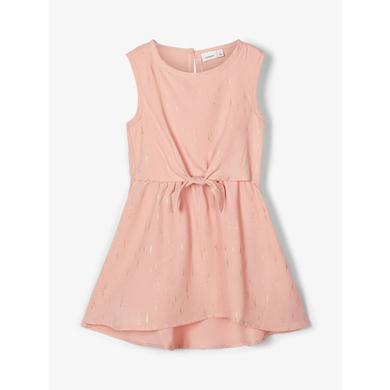 Minigirlroeckekleider - name it Girls Kleid Nbfritalina silver pink - Onlineshop Babymarkt