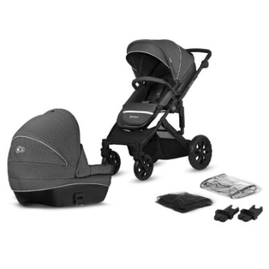 Kinderkraft Prime Lite 2v1 black 2020
