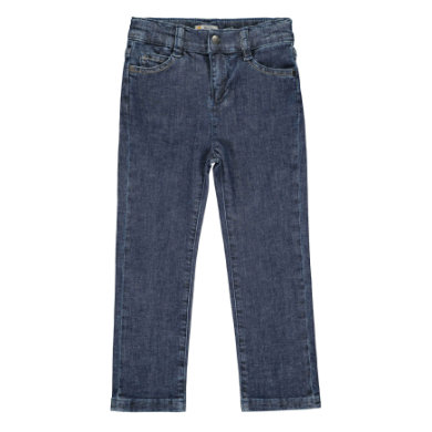 Steiff Girls Jeans modrý denim