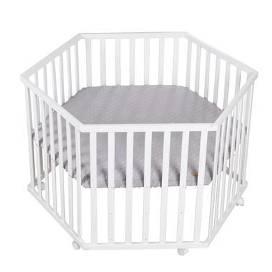 Laufgitter - roba Laufgitter 6 eckig Style grau  - Onlineshop Babymarkt