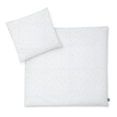 JULIUS ZÖLLNER Jersey Ložní prádlo Color Dots 80 x 80 cm