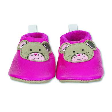 Babyschuhe - Sterntaler Baby–Krabbelschuh Leder magenta - Onlineshop Babymarkt