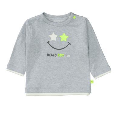 Babyoberteile - Staccato Boys Shirt soft grey melange – grau – Gr.Newborn (0 – 6 Monate) – Jungen - Onlineshop Babymarkt