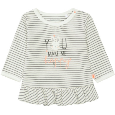 STACCATO Girls Tunic off white striped