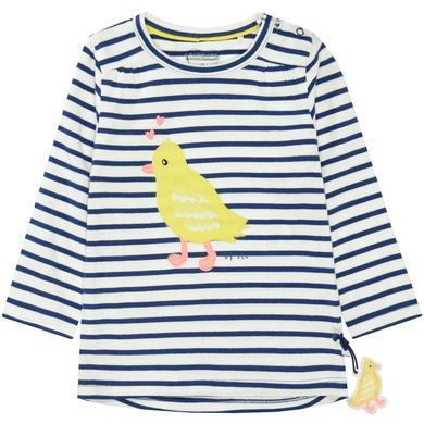 Babyoberteile - Staccato Girls Shirt tinte gestreift – blau – Gr.Babymode (6 – 24 Monate) – Mädchen - Onlineshop Babymarkt