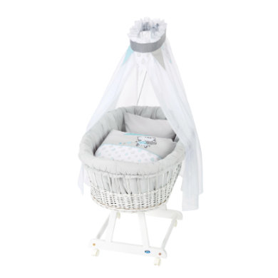 Alvi ® Complete Birth tube trolley e white Raindrops