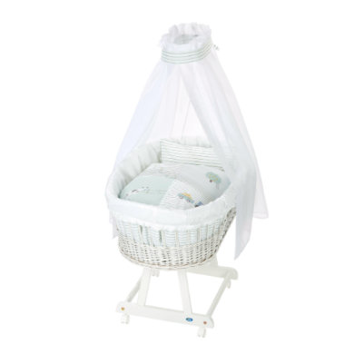 Alvi ® Complete Birth tube trolley e white Farm