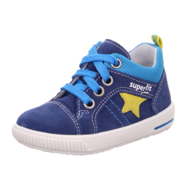 superfit Boys low shoes Moppy blue  yellow (medium)