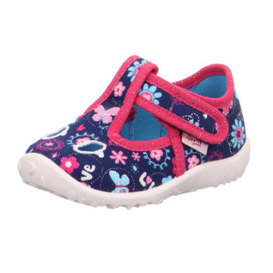 superfit Girls Slipper Spotty blue