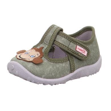 Babyschuhe - superfit Boys Hausschuh Spotty grün – Gr.Babymode (6 – 24 Monate) – Jungen - Onlineshop Babymarkt