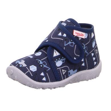 Image of superfit Pantofola per ragazzi Blu maculato