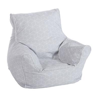 Sitzmöbel - knorr® toys Kindersitzsack Geo cube grey  - Onlineshop Babymarkt