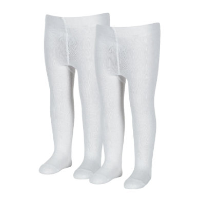 Sterntaler Pantyhose uni double pack white