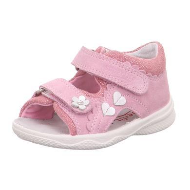 Babyschuhe - superfit Girls Sandale Polly rosa (mittel) – rosa pink – Gr.Babymode (6 – 24 Monate) – Mädchen - Onlineshop Babymarkt