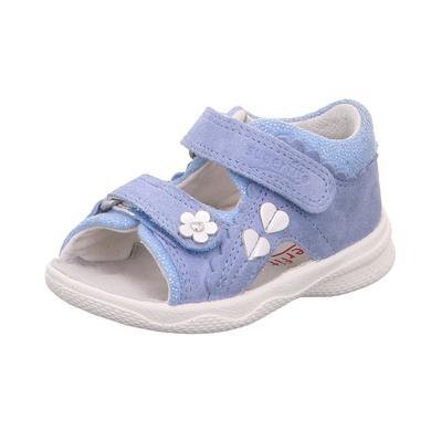 Babyschuhe - superfit Girls Sandale Polly hellblau (mittel) – Gr.Babymode (6 – 24 Monate) – Mädchen - Onlineshop Babymarkt
